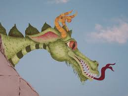 childrens painted wall murals cathie s murals childrens murals castle dragon