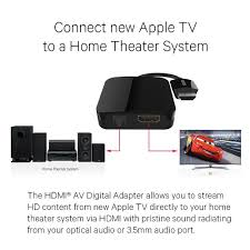 amazon com kanex digital adapter compatible with apple tv 4th