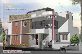 duplex house plan elevation kerala home design house plans 40931