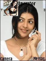 kajal name themes kajal agarwal mobile themes for samsung sgh i560