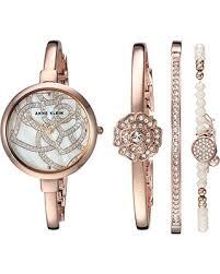 anne klein bracelet set images Amazing shopping deals on anne klein women 39 s ak 3080rgst swarovski