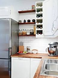 Decor Ideas For Kitchen by Kitchen Wall Shelves Ideas Corenr Wall Shelves Are Perfect To