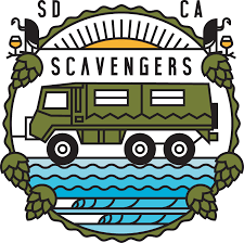 jeep beer sticker san diego brewery tours 6 wheel safari beer tours scavengers