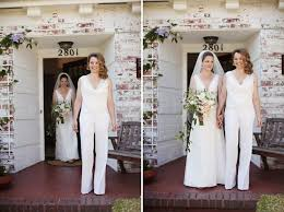 wedding dress jumpsuit and the wore the trousers bridal musings