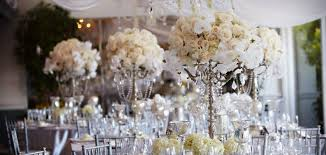wedding flowers table