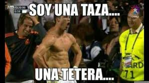 Memes De Cristiano Ronaldo - soy una taza una tetera qu礬 es