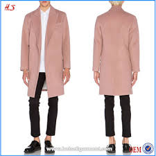 light pink wool coat dongguan sale wholesale custom men s wool coat fashion design
