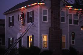Hang Christmas Lights by My Friends Put Up Their Christmas Lights And Decorations This