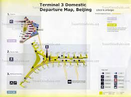 Map Houston Airport Terminal 3 Of Beijing Capital Airport Airlines Guides
