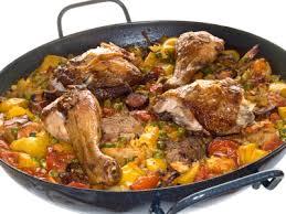 cuisine traditionnelle espagnole recette espagnole de la paella