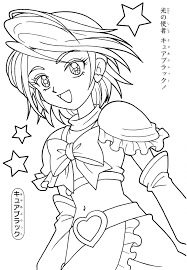 coloring pages cures coloring page