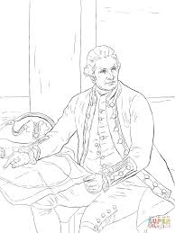 captain james cook coloring page free printable coloring pages
