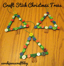 sarah jane u0027s craft blog craft stick christmas trees