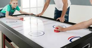 air hockey table walmart walmart com espn large 2 in 1 air hockey tennis table 126 34