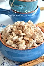 churro puppy chow snack recipe the 36th avenue