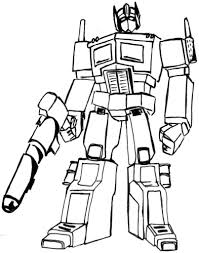transformer coloring page fablesfromthefriends com