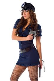 amazon com velvet kitten women police officer costume in