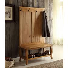 hall tree bench hall trees entryway furniture the home depot