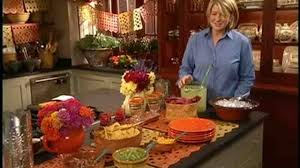 Mexican Themed Dinner Party Menu Video Decorating A Mexican Buffet Martha Stewart