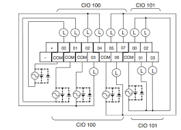 programmable logic how to wire the output of a plc electrical