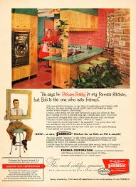 Vintage Kitchen Ideas 1956 Vintage Ad Formica Kitchens Very 50s Style 060115 Ebay