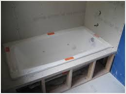 Installing Bathtub How To Install A Drop In Tub Better Life