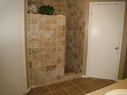 Large Bathroom Showers Partial Wall For Walk In Shower Home Decor Walls Bathroom Showers