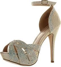de blossom womens vice 172 dressy party heels sandals shoecenter com