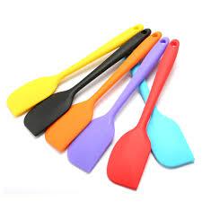ustensile de cuisine en silicone 27 5 cm grande spatule en silicone non bâton ustensiles de cuisine