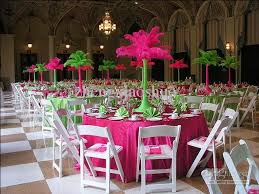 Ostrich Feathers For Centerpieces by Wholesale Ostrich Feather Plumes Pink 18 2045 50cm Wedding