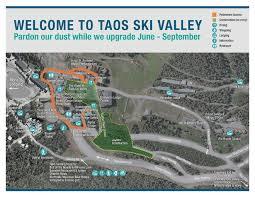 New Mexico Ski Resorts Map by Taos Ski Valley Skiing Hiking Biking Mecca Beyondtaos Com