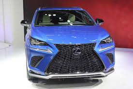 blue lexus nx lexus nx 2018 2019 u2013 serious restyled crossover cars news