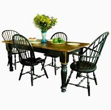 Dining Table And Six Chairs Buy Made Pine Farmhouse Dining Table Six Chairs Made To