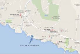 Cal Map Map Alihi Lani 1