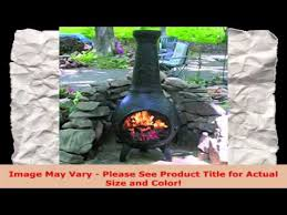Blue Rooster Chiminea Review Buy Chiminea Outdoor Fireplace Blue Rooster Alch014 Ch