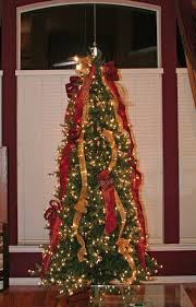 christmas tree ribbon garlands u2013 happy holidays