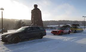nissan versa in snow through frozen hell with the best and worst station wagons in the