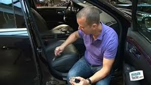 reparation siege cuir voiture réparer une déchirure ou un trou dans le cuir de sa voiture