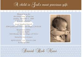 Sample Of Invitation Card For Christening Baby Baptism Invitations Baby Christening Invitations