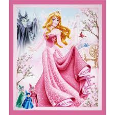 disney sleeping beauty 36 panel pink discount designer