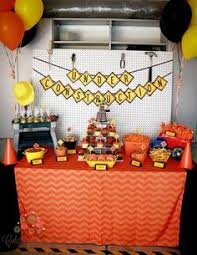 Construction Party Centerpieces by Under Construction Baby Shower Theme Candy Dessert Tables