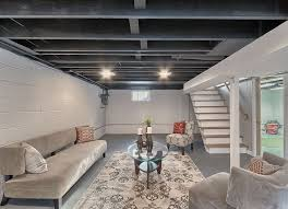 Cheap Ceiling Ideas Living Room 11 Doable Ways To Diy A Basement Ceiling Basement Ceilings