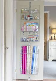 door wrapping paper 7 more ways to get organized using doors wrapping paper storage