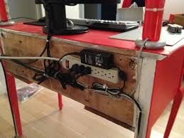 Desk With Cable Management by 7 Best Cable Management Images On Pinterest Cable Management