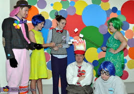 inside out costumes inside out emotional family costume photo 2 10