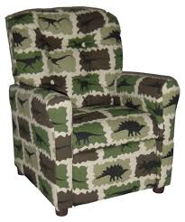 brazil furniture 4 button back child recliner camo rex hayneedle
