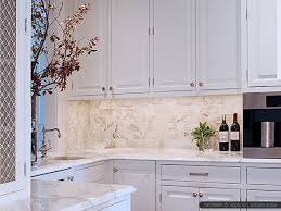 Traditional Backsplashes For Kitchens Kitchen Design Chrome Traditional Faucet White Mosaic Marble Tile