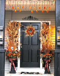 Creative Fall Door Decorations Collection Fall Entry Decor All The