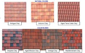 Roof Tile Colors Lovely Barrel Tile Roof Colors Brilliant Roof Tiles