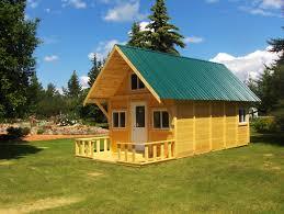 Small Cabin In The Woods Custom Cabin Package 12 U0027x24 U0027 Cozycabin Beautifulcabin